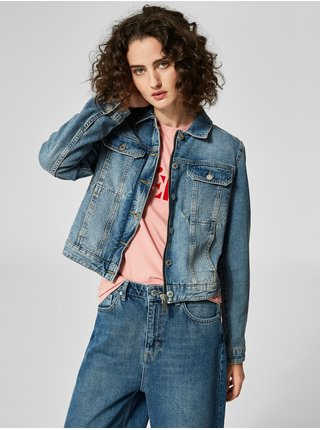 Jacheta albastra din denim Selected Femme Day