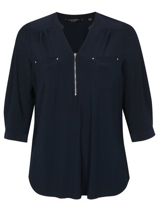 Bluza albastru inchis Dorothy Perkins Curve