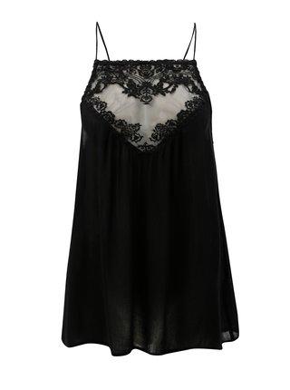Bluza neagra cu bretele subtiri Blendshe Karodal