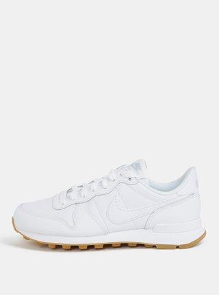 Tenisi de dama albi din piele Nike Internationalist