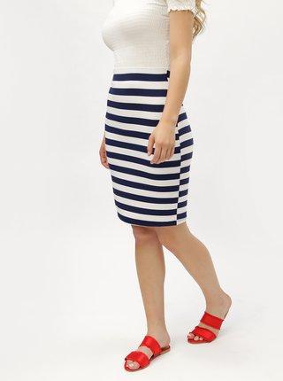 Bílo-modrá pruhovaná sukně ZOOT