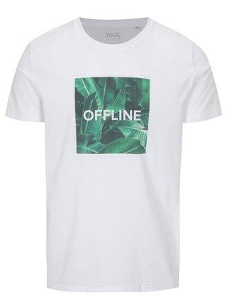 Bílé pánské tričko ZOOT Original Offline