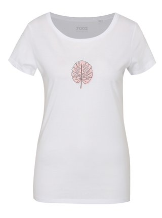 Bílé dámské tričko ZOOT Original Monstera