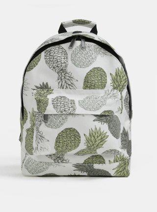 Bílý dámský batoh s motivem ananasů Mi-Pac Pineapple