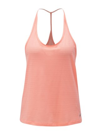 Neonově oranžové dámské tílko Nike Miler Tank