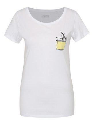 Bílé dámské tričko ZOOT Original Drink