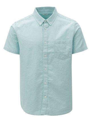 Camasa verde mentol cu maneci scurte Burton Menswear London