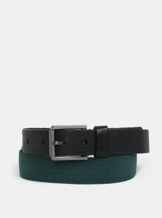 Zelený pánsky opasok Calvin Klein Jeans