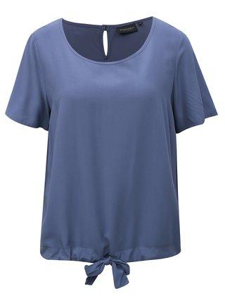 Bluza albastra cu snur in partea de jos Broadway Celise