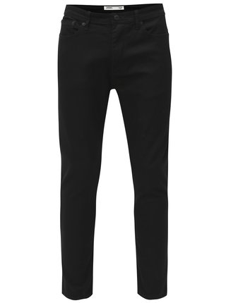 Blugi negri skinny fit din denim Burton Menswear London