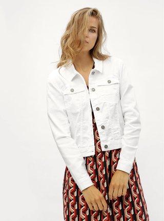 Bílá džínová bunda Noisy May