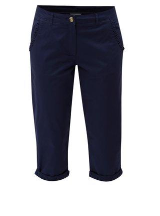 Pantaloni albastru inchis 3/4 chino Dorothy Perkins Tall