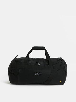Čierna cestovná taška Original Penguin