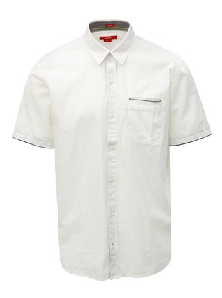 Biela pánska regular košeľa s.Oliver