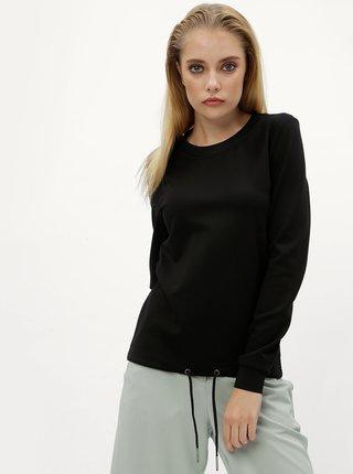 Bluza neagra sport cu snur in partea de jos Noisy May Power