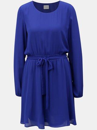 Rochie albastra cu cordon VILA Lucy