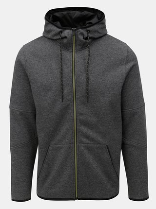 Hanorac melanj gri inchis Jack & Jones Alpha
