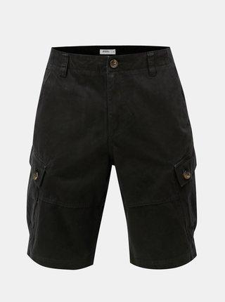Čierne kraťasy s vreckami Burton Menswear London