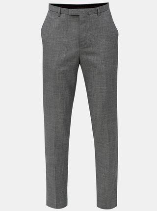 Pantaloni formali gri melanj Burton Menswear London