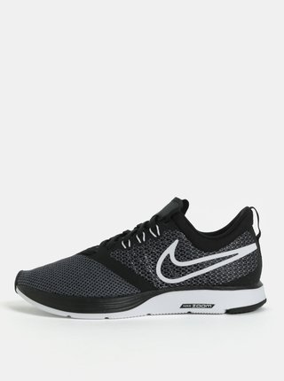 Zeleno–čierne dámske tenisky Nike Zoom Strike