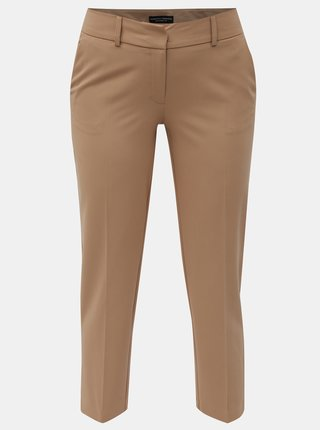 Pantaloni maro crop Dorothy Perkins