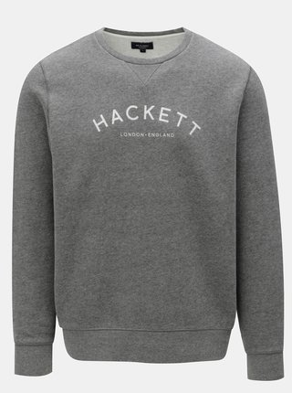 Bluza sport gri classic fit Hackett London