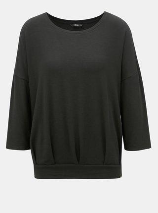 Černé volné tričko ONLY Mida