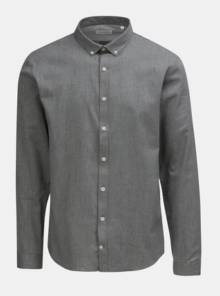 Šedá žíhaná košile Lindbergh