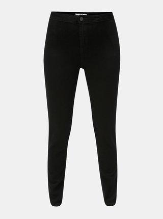 Černé skinny džíny s vysokým pasem Dorothy Perkins Lyla
