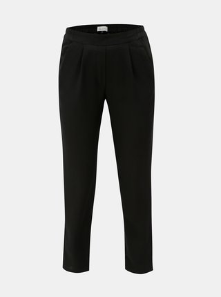 Pantaloni negri crop cu talie inalta Blendshe Sacha
