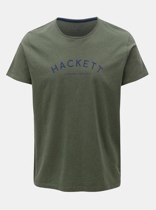 Tricou kaki classic fit Hackett London