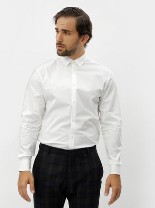 Camasa alba formala slim fit Selected Homme Preston