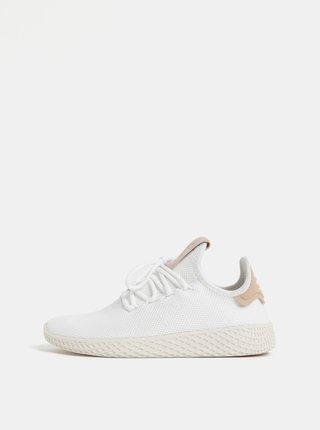 Hnedo-biele dámske tenisky adidas Originals Tennis