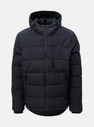 Geaca albastru inchis matlasata Burton Menswear London Aspen
