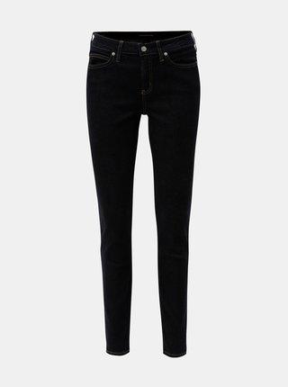 Tmavomodré dámske super skinny rifle Calvin Klein Jeans