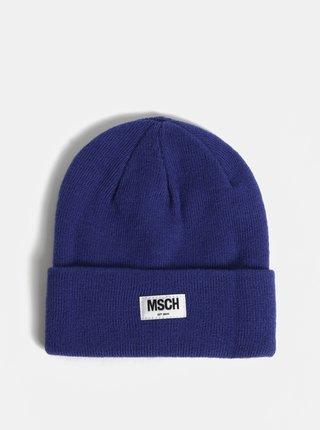 Caciula albastra din lana Moss Copenhagen Mojo