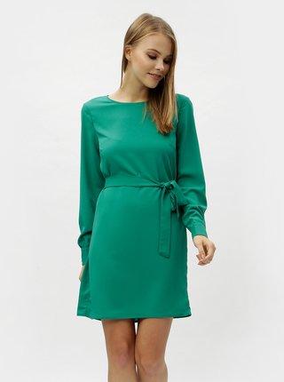 a4c93b70784b Zelené šaty s dlhým rukávom VERO MODA June
