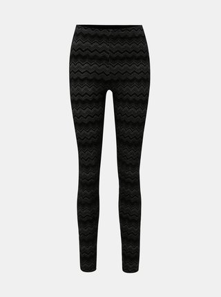 Leggings negri ONLY Zigzag
