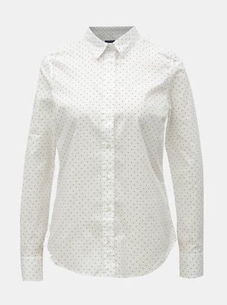 039d5388d780 Biela dámska bodkovaná košeľa GANT