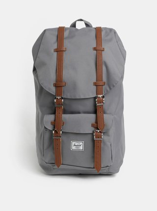 Šedý batoh Herschel Supply Little America 25 l