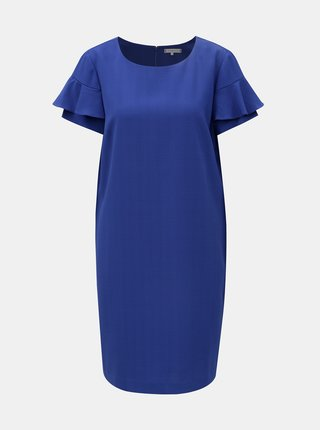 Modré kostkované šaty Tommy Hilfiger Patsy