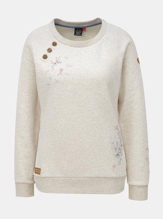 Bluza de dama sport gri deschis cu print Ragwear