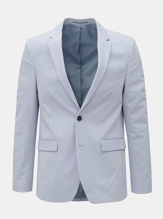 Sacou formal albastru deschis skinny fit Burton Menswear London