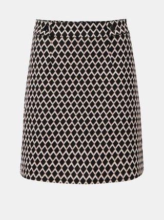 Růžovo-černá kostkovaná sukně Dorothy Perkins
