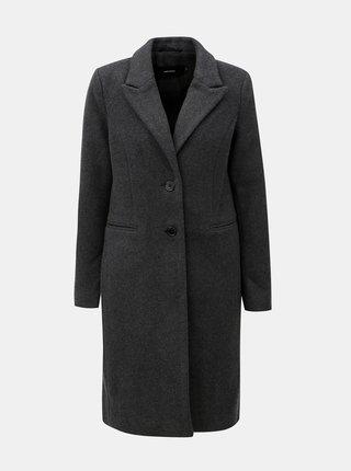 52fd4c1a40 Sivý kabát s prímesou vlny VERO MODA Blaza