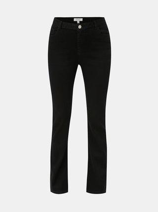 Černé bootcut džíny s vysokým pasem Dorothy Perkins