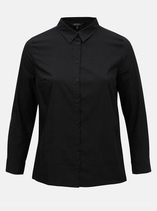 Černá košile Ulla Popken