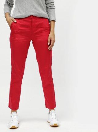 Červené chino nohavice SKFK