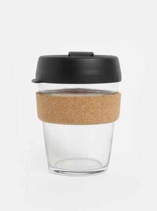 Cana neagra de calatorie din sticla KeepCup Brew medium 340 ml