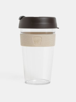 Cana gri-maro de calatorie KeepCup Original large 454 ml